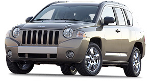 Jeep 2007 Compass Crossover: Compass is longer than a Forester and powered by a 128kW 2.4.