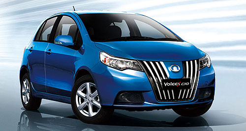 Great Wall 2012 VX10 C you soon: Great Wall's first passenger car, the Voleex C10, should be here by early next year.