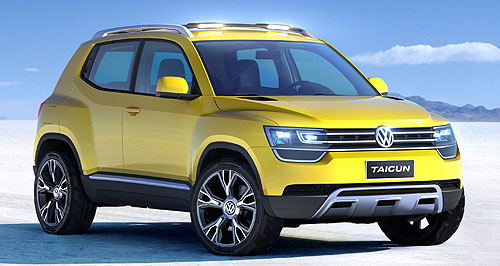 Volkswagen 2014 Taigun Easy, Taigun: The Up-based Volkswagen Taigun small SUV is technically a concept, but expect a production version to emerge before 2015.