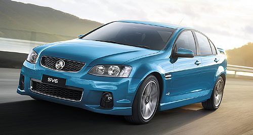 Holden Commodore LPGHappy gas: Holden's first dedicated Commodore LPG range - now including Caprice (pictured) - is more efficient but less powerful than its most direct rival in the Ford Falcon EcoLPi line-up.