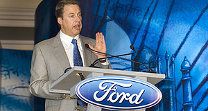 Ford  Peaking: Company CEO Bill Ford says Australian sales will plateau.