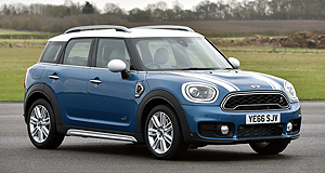 Mini Countryman Count me in: Mini's new-generation Countryman boasts increased interior dimensions, making it easier than before to ferry around five adult occupants.