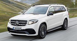 Los Angeles 2015 Giant LS: Mercedes-Benz will debut its range-toppping GLS SUV at LA, to sit above the recently released GLE.
