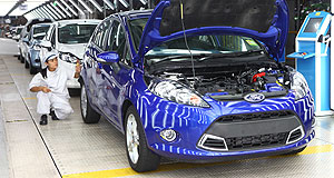 Ford  Fiesta time: Ford's global light car has been a hit in most markets, helping to drive FoMoCo to a record third-quarter profit.