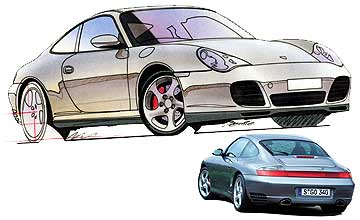 2001 Porsche 911 Carrera 4S coupe Car Review