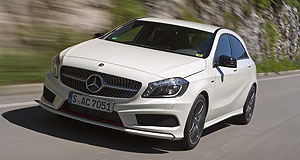 Sydney 2012 Class act: The A-Class will be one of the star cars on the Mercedes-Benz stand at the 2012 Australian International Motor Show.