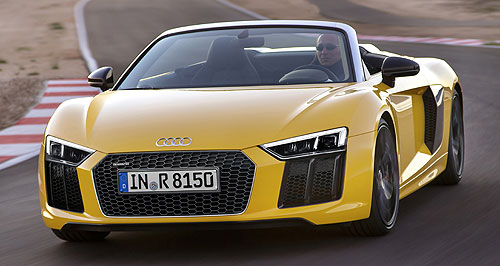 Audi  High hopes: New Quattro CEO Stephan Winkelmann said Audi Sport sales will eventually catch up to the popular Mercedes-AMG and BMW M and M Performance rivals.