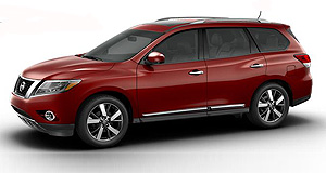 Nissan 2013 Pathfinder Mystery: Nissan is yet to unveil the production-ready Pathfinder SUV but recently posted this image on its Facebook page.