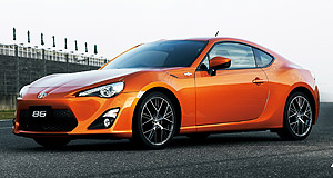 Toyota 2012 86 ConvertibleLose the roof: A topless Toyota 86 appears to be on the way, shortly behind the coupe.