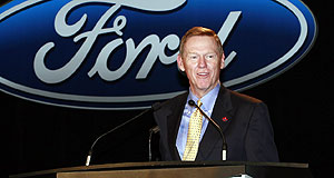 Ford  Big plans: New FoMoCo chief Alan Mulally.