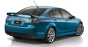 Holden Commodore rangeNew blue: The MY12 Commodore line-up will be offered in two striking new hues, including 'Perfect Blue'.