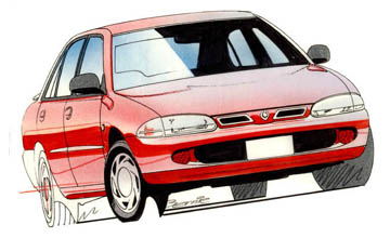 1997 Proton Persona GLi 5-dr hatch Car Review