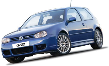 2004 Volkswagen Golf R32 3-dr hatch Car Review