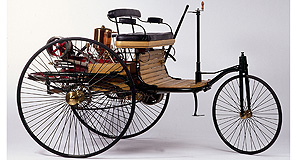 Mercedes-Benz  Number one: Carl Benz's first car is the star attraction at the Mercedes-Benz Museum in Stuttgart.