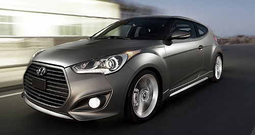 Hyundai 2012 Veloster TurboQuick Korean: Hyundai has its eye on the Golf GTI with its turbocharged Veloster variant.