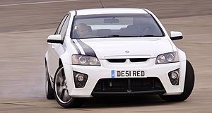 Vauxhall 2009 VXR8 Bathurst SBlown away: Walkinshaw supercharger puffs up HSV Vauxhall VXR8-S to 420kW.