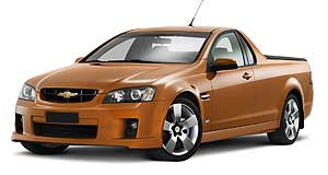 Holden Commodore ute Stateside ute: What a Chevrolet-badged VE Ute could have looked like. Digital image: Chris Harris.