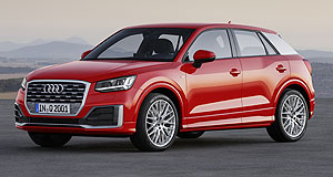 Audi  Growing family: Despite the diesel crisis, Audi managed to profit in 2015 and is setting higher targets for 2016, driven by new models such as the Q2, which made its debut in Geneva.