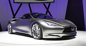 Infiniti 2013 G Got the look: The Emerg-e is one of several recent concept cars that demonstrate Infiniti's future design direction.