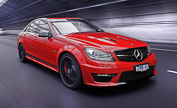 2013 mercedes benz c class c63 amg edition 507 goauto for How much is a mercedes benz c63 amg