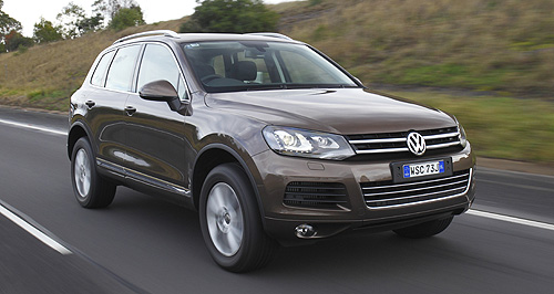 VW Touareg to go all diesel – with a V8   GoAuto