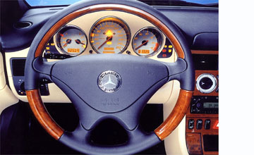 2003 Mercedes-Benz SLK-class SLK320 Special Edition | GoAuto - Interior shot