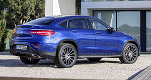 Mercedes-Benz 2016 GLC Coupe Sports focussed: Mercedes says the GLC Coupe will appeal to a buyer that appreciates sporty and dynamic performance.