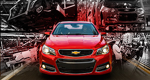 Holden  No chance: GM's decision to only import a tiny number of VF Commodore-based Chevy SS's Stateside was reflective of a wider trend.