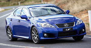 Lexus  We were warned: The Lexus IS F price was expected to rise - and it has.