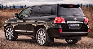 Toyota 2012 LandCruiser 200 SeriesTweaked beast: The facelifted Toyota Landcruiser 200 Series will hit Australian dealerships from March this year.