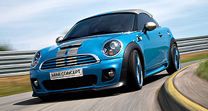 Mini  Nice niche: The Mini Coupe concept is one of the new breed of niche models that are expected to help Mini expand.