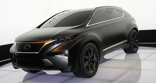 Lexus 2014 Compact SUV Left: The LF-Xh Hybrid Concept from the 2008 Paris motor show may give an idea of what a future Lexus compact SUV could look like.