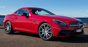 Mercedes-Benz SLC rangeShift happens: Mercedes-Benz has introduced the new SLC180 variant into its two-seat roadster range, the only passenger vehicle in its stable available with a manual gearbox.