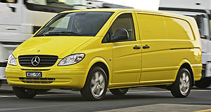Mercedes-Benz Vito rangeThree-pointed box: Mercedes-Benz claims the fuel savings on the new Vito 111CDI will cover the higher lease repayments.