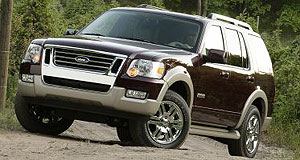 Ford  Explore no more: Redesigned MY2006 Explorer will not be sold in Australia.