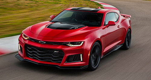 Chevrolet 2016 Camaro ZL1Zed one: Chevrolet's fastest-ever Camaro also gets GM's first 10-speed automatic transmission.