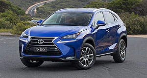 Lexus  Riding high: While SUVs such as its best-selling NX are proving to be sales winners, new Lexus Australia boss Peter McGregor says its sedan range could do better.
