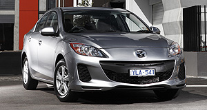 VFACTS Sales 2012 Back to back: Mazda's Japanese-made Mazda3 small car retained its crown as Australia's top-selling vehicle with 44,128 sales in 2012.