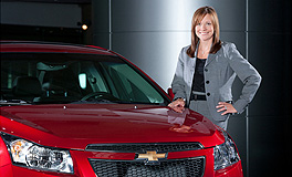 General Motors  GM first: Mary Barra is the company's first ever female global product development chief.