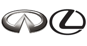 Infiniti  Brothers in arms: Infiniti and Lexus will take the fight to the Germans in the Australian luxury-car market.