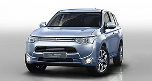 Mitsubishi 2013 Outlander PHEVLong-distance runner: Mitsubishi's all-new Outlander PHEV can run on battery power for about 55km, and then on petrol power for more than 800km.