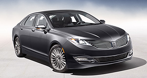 General News  Customer appeal: The MKZ mid-size luxury sedan has played a key role in keeping Lincoln sales afloat and owner satisfaction high, and the new 2013 model should continue the trend.
