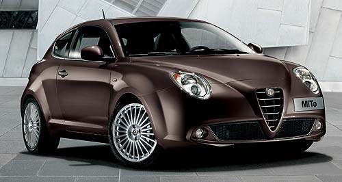 "Alfa Romeo 2011 MiTo Subtle: Alfa's changes to its Mini competitor are hard to spot and the new ""Bronze"" colour scheme won't be coming to Australia."