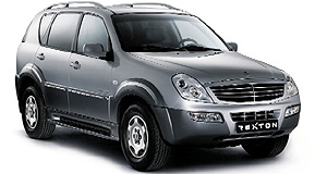 Mercedes-Benz  Benz-powered: Rexton uses a Mercedes-derived 2.7-litre CDi turbo-diesel.