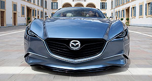 Mazda 2013 RX-9 Style centre: Mazda's Shinari concept points the way to the company's next generation, but it won't necessarily get rotary power.