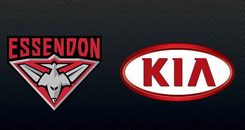 Kia  Not over: Kia will honour the final year of its Essendon sponsorship contract, but plans to look hard at any further involvement.
