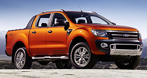 Ford Ranger WildtrakWild thing: The Ranger Wildtrak stands out with its beefy body additions and optional lairy orange paint scheme.