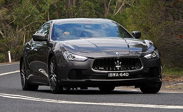 2014 maserati ghibli range goauto our opinion. Black Bedroom Furniture Sets. Home Design Ideas
