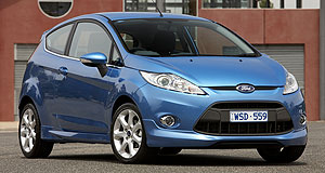 Ford  Short supply: Ford has a queue for its top-of-the-range Fiesta Zetec.