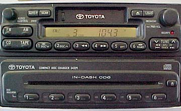 understanding radio in my 98 camry toyota nation forum toyotayou can see that they are two separate units stacked one on top the other